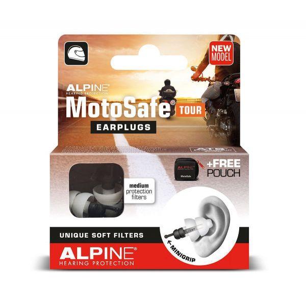 Accesorii Casti Strada Alpine Dopuri Urechi MotoSafe TOUR