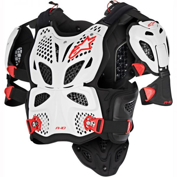 Protectii Piept-Spate Alpinestars Vesta Moto Protectie A-10 White/Black 2021