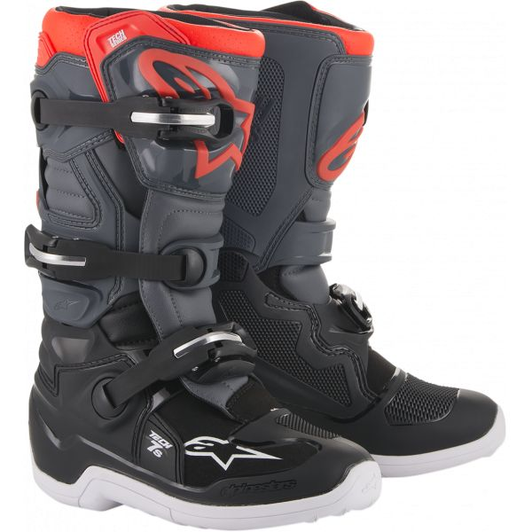 Cizme MX-Enduro Copii Alpinestars Cizme MX Copii Tech 7S Multicolor/Gri 2021