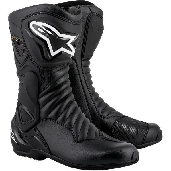 Cizme Moto Sport Alpinestars Cizme SMX-6 V2 Gore Tex Black 2020
