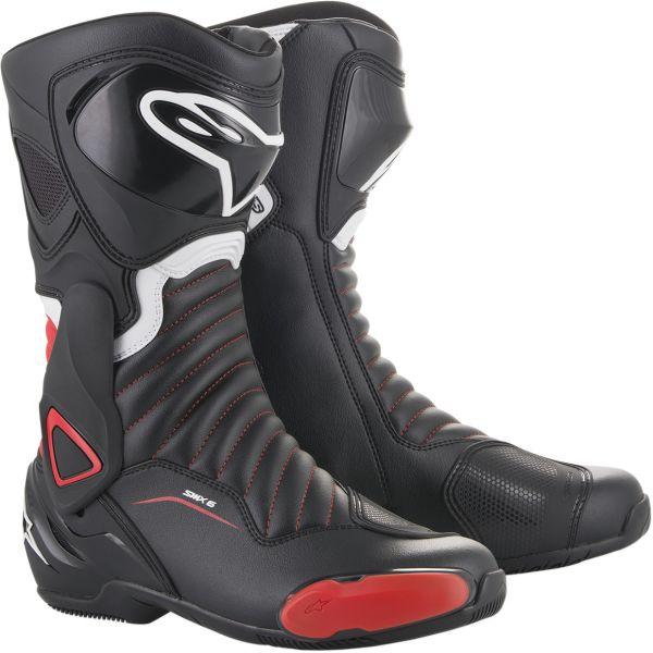 Cizme Sport Alpinestars Cizme Sport SMX-6 V2 Black/Red 2020