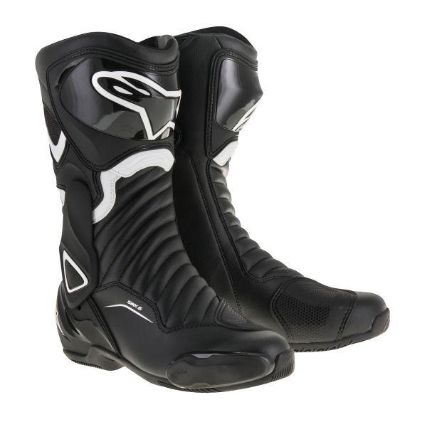 Alpinestars Cizme Sport SMX-6 V2 Black/White 2020