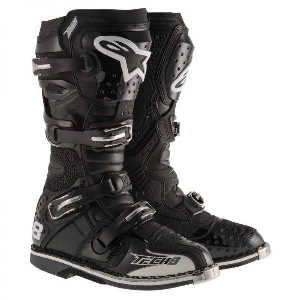 Cizme MX-Enduro Alpinestars Cizme Tech 8 RS Black 2019