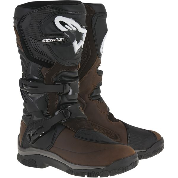 Cizme Moto Touring Alpinestars Cizme Touring Corozal Adventure Drystar Oiled Black/Brown 2020