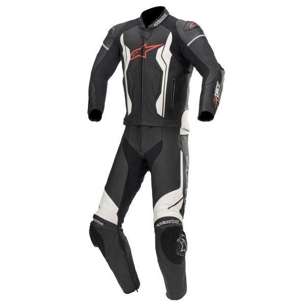 Combinezoane Moto Piele Alpinestars Combinezon Piele 2 PC GP Force Black/White 2020