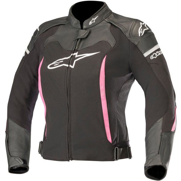Geci Moto Piele - Dama Alpinestars Geaca Moto Dama Piele Stella SP X Negru/Roz