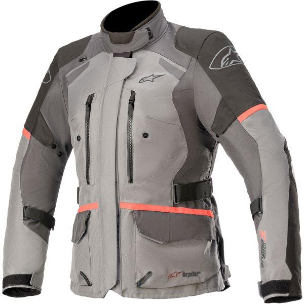 Geci Moto Textil - Dama Alpinestars Geaca Moto Dama Stella Andes v3 Grey/Black/Coral 2021