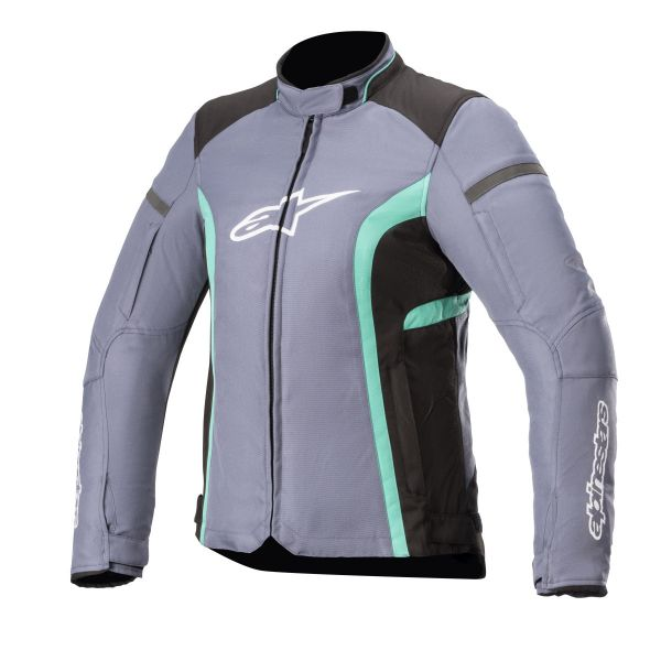 Geci Moto Textil - Dama Alpinestars Geaca Moto Textila Dama Stella Kira v2 WP Peacock Green/Slate 2021