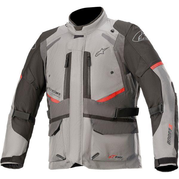 Geci Moto Textil Alpinestars Geaca Moto Textila Andes Drystar v3 Gray/Dark Gray 2021