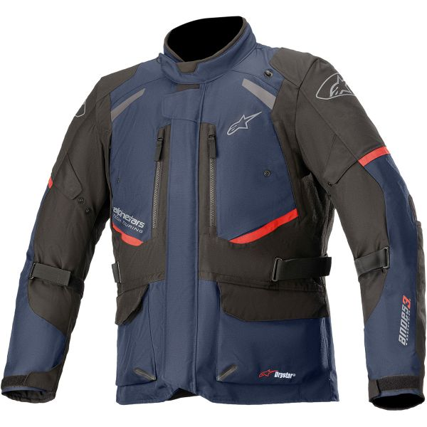 Geci Moto Textil Alpinestars Geaca Moto Textila Andes Drystar v3 Green/Blue/Black 2021