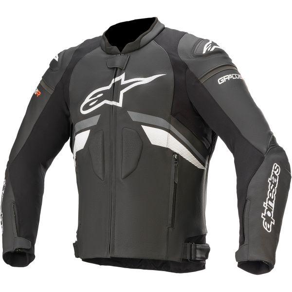 Geci Piele Alpinestars Geaca Piele GP PLUS R V3 Black/Dark Grey/White 2020