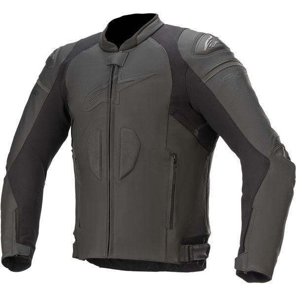 Geci Piele Alpinestars Geaca Piele GP Plus R V3 Black/Black 2020