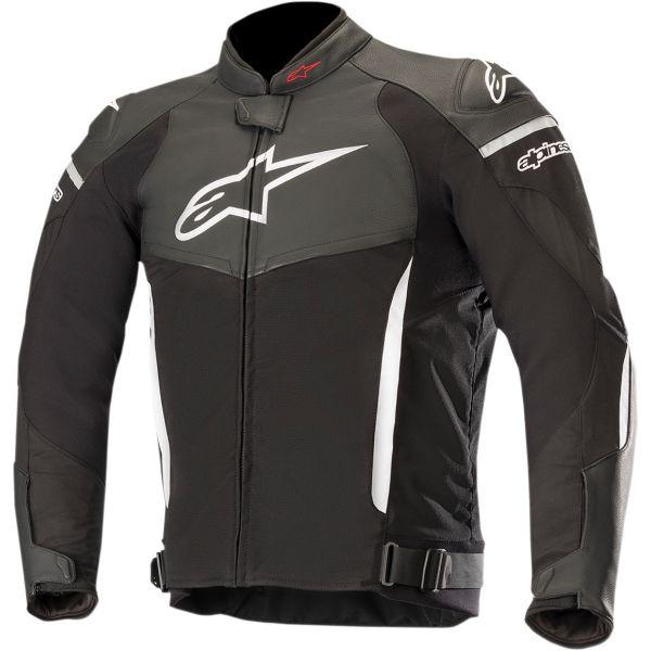 Geci Piele Alpinestars Geaca Piele/Textila SP X Black/White 2020