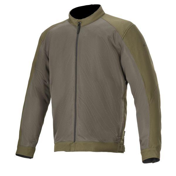 Geci Moto Textil Alpinestars Geaca Moto Textila CALABAS AIR Military Green 2020