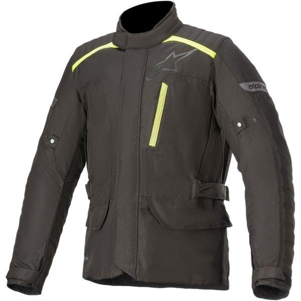 Geci Moto Textil Alpinestars Geaca Moto Textila GRAVITY DRYSTAR Black/Yellow Fluo 2020