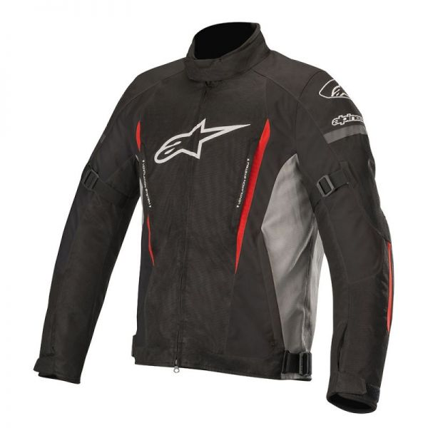 Geci Textil Alpinestars Geaca Textila Gunner V2 Waterproof Black/Gray Red 2020