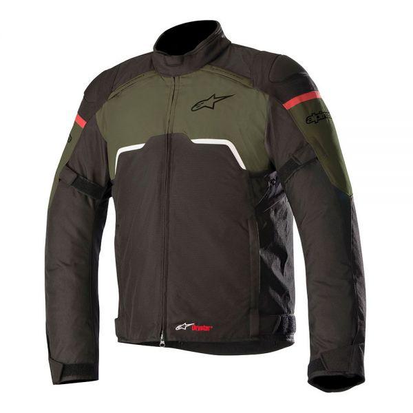 Geci Textil Alpinestars Geaca Texila Hyper Drystar Black/Military Green 2020
