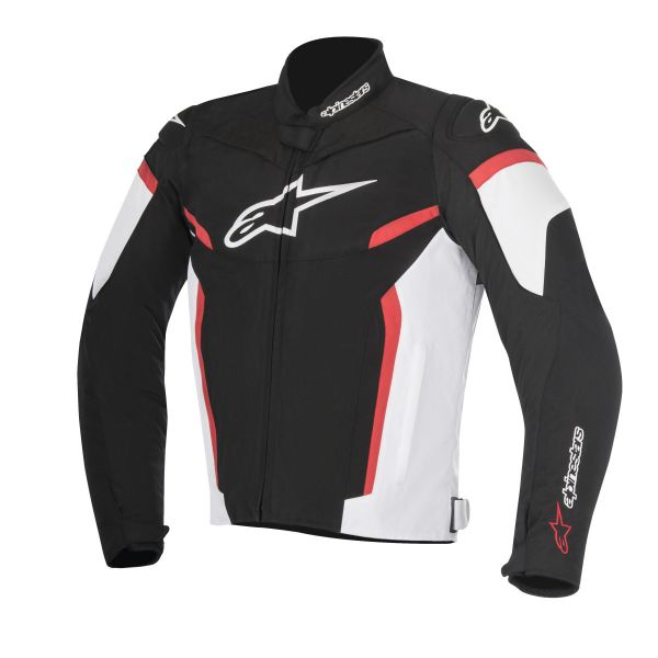 Geci Textil Alpinestars Geaca Textila T-GP Plus R V2 Black/White/Red 2020