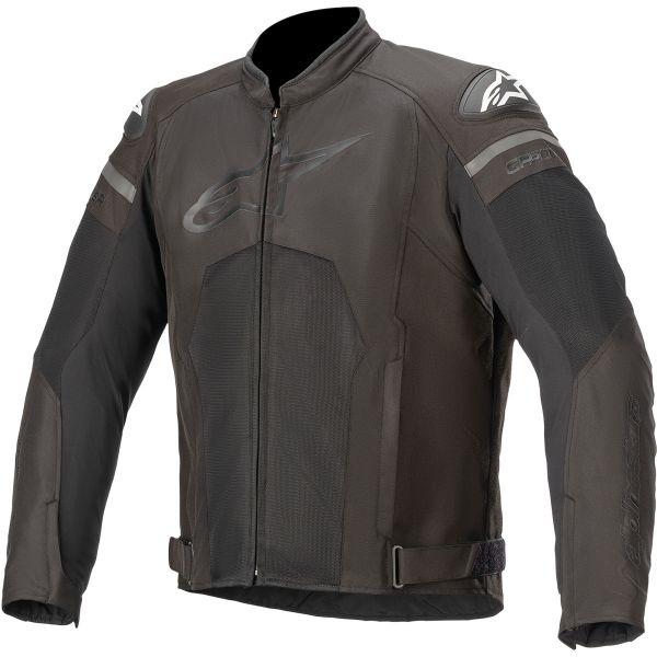 Geci Moto Textil Alpinestars Geaca Moto Textila T-GP PLUS R V3 AIR Black/Black 2020