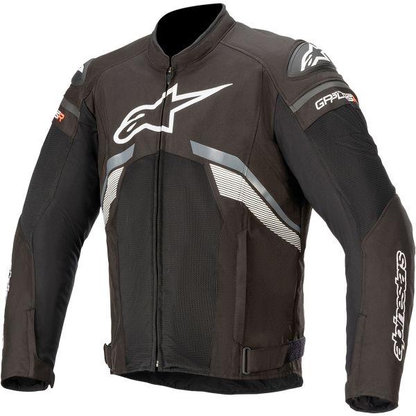 Geci Moto Textil Alpinestars Geaca Moto Textila T-GP PLUS R V3 AIR Black/Dark Gray/White 2020