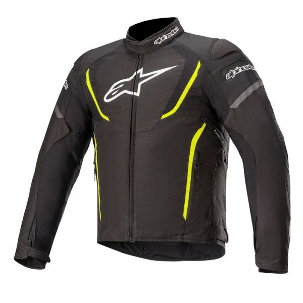 Geci Textil Alpinestars Geaca Textila T-Jaws V3 Waterproof Black/Yellow 2020