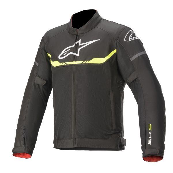 Geci Moto Textil Alpinestars Geaca Moto Textila T-SPS AIR Black/Yellow Fluo 2020
