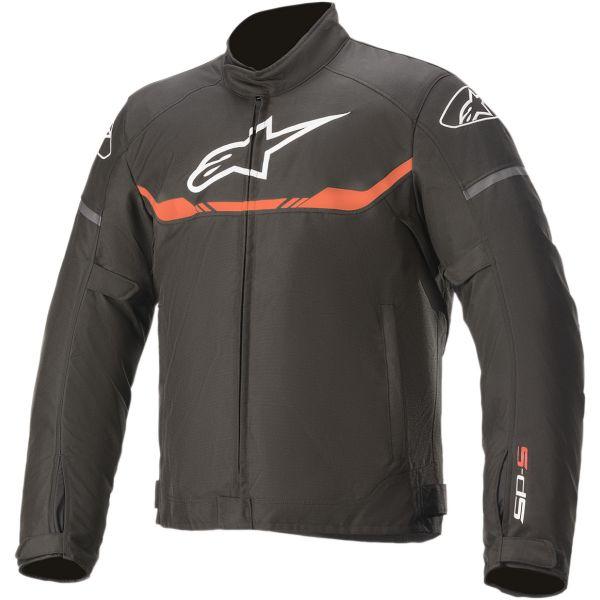 Geci Moto Textil Alpinestars Geaca Moto Textila T-SPS WATERPROOF Black/White/Red 2020