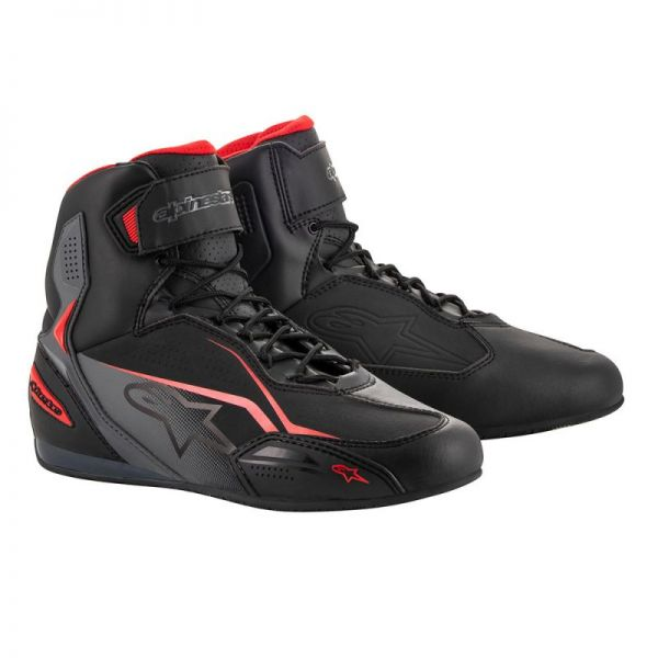Cizme Moto Scurte Alpinestars Ghete Faster 3 Black/Red