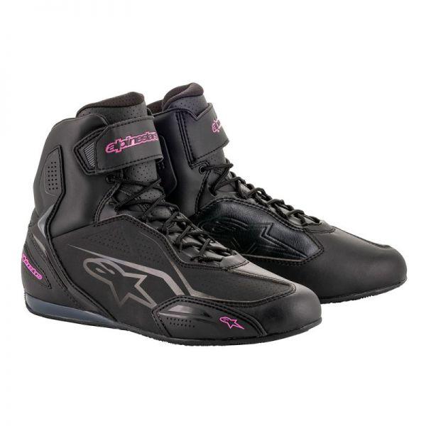 Cizme Moto - Dama Alpinestars Ghete Stella Faster 3 Black/Pink Dama