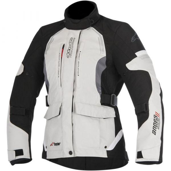Geci Textil - Dama Alpinestars LICHIDARE STOC Geaca Textila Dama Stella Andes V2 Drystar Light Gray/Black
