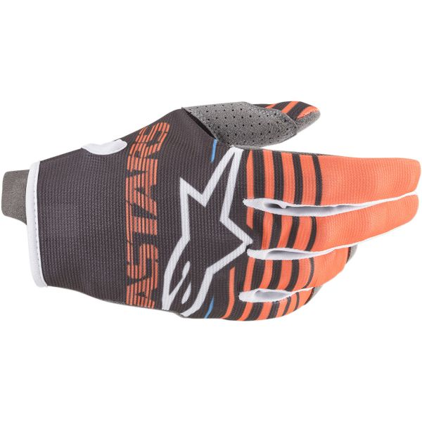 Manusi MX-Enduro Copii Alpinestars Manusi Copii Radar S20 Anthracite/Orange