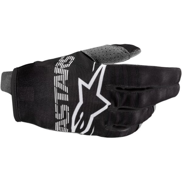 Manusi MX-Enduro Copii Alpinestars Manusi Copii Radar S20 Black/White