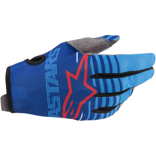 Manusi MX-Enduro Copii Alpinestars Manusi Copii Radar S20 Blue/Aqua