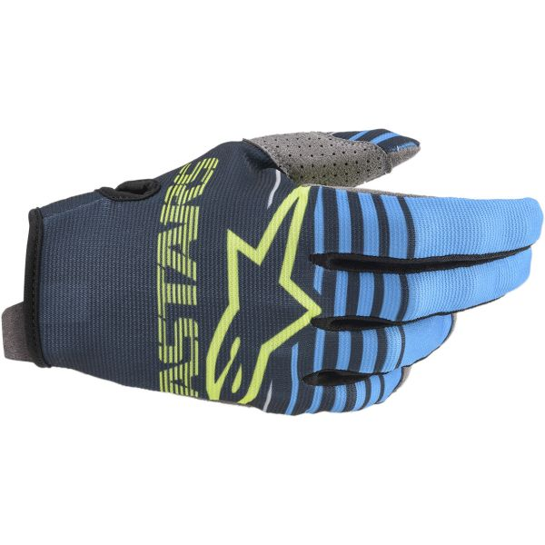 Manusi MX-Enduro Copii Alpinestars Manusi Copii Radar S20 Navy/Aqua