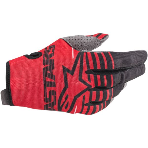 Manusi MX-Enduro Copii Alpinestars Manusi Copii Radar S20 Red/Black