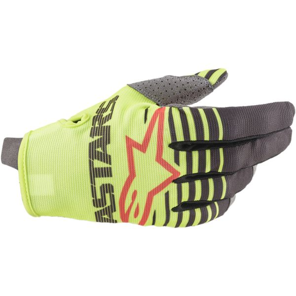 Manusi MX-Enduro Copii Alpinestars Manusi Copii Radar S20 Yellow/Anthracite