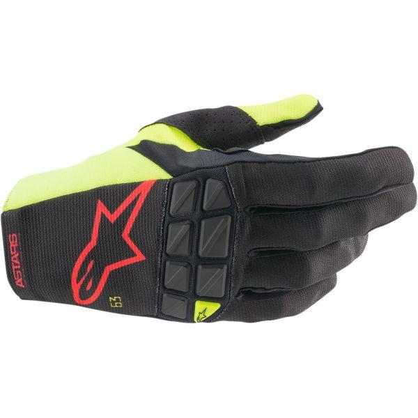 Manusi MX-Enduro Alpinestars Manusi MX Racefend Multicolor/Galben 2021