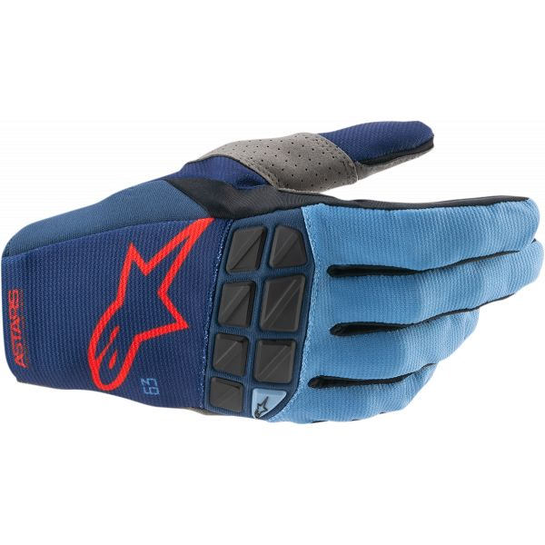 Manusi MX-Enduro Alpinestars Manusi MX Racefend Negru/Rosu 2021