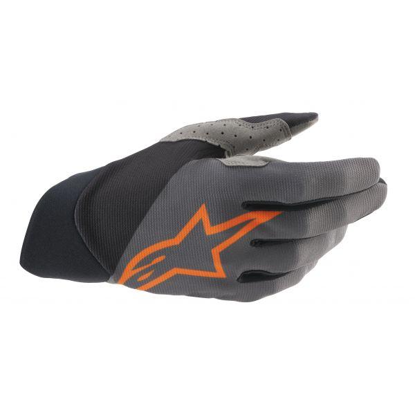 Manusi MX-Enduro Alpinestars Manusi MX Scurte Dune Gri/Portocaliu 2021