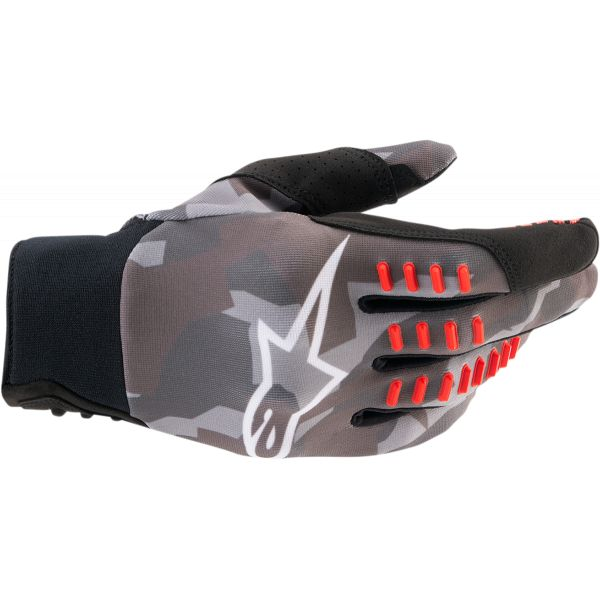 Manusi MX-Enduro Alpinestars Manusi MX SMX-E Camuflaj/Rosu 2021