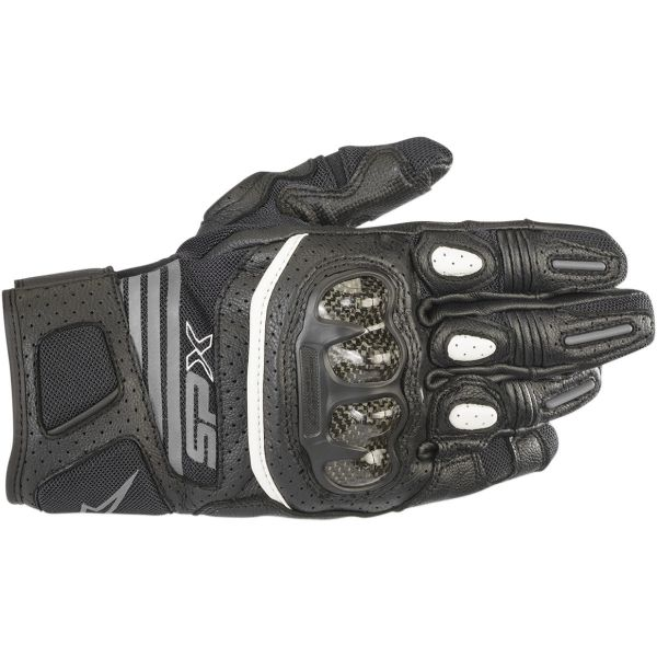 Alpinestars Manusi Piele Dama Stella SP X Air Carbon V2 Black/Anthracite 2020