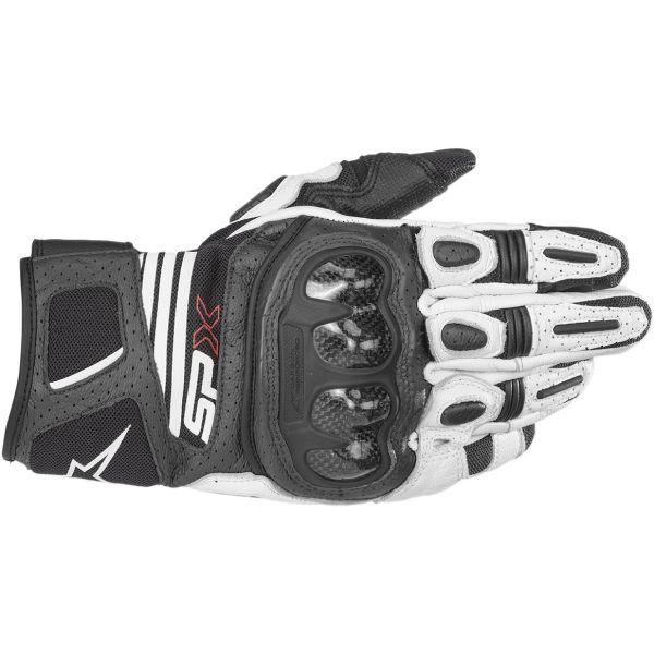 Manusi Sport si Piele Alpinestars Manusi Piele SP X Air Carbon V2 Black/White 2020