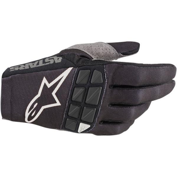Manusi MX-Enduro Alpinestars Manusi Racefend S20 Black/White