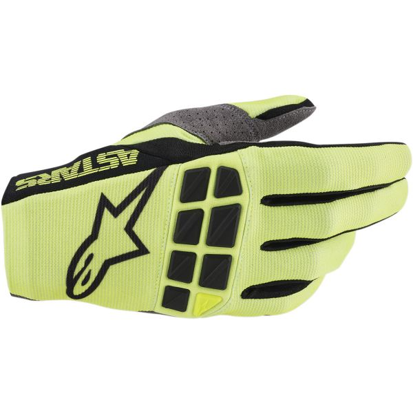 Manusi MX-Enduro Alpinestars Manusi Racefend S20 Yellow/Black
