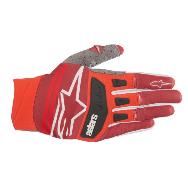 Manusi MX-Enduro Alpinestars LICHIDARE STOC Manusi Techstar Red/Burgundy S9