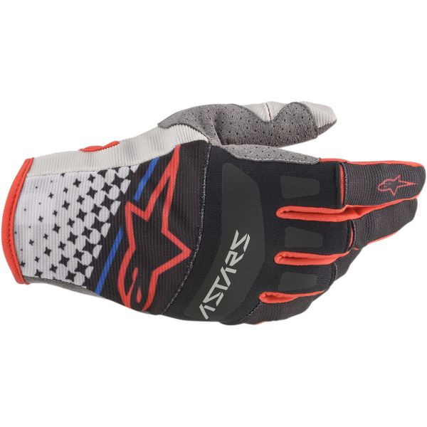 Manusi MX-Enduro Alpinestars Manusi Techstar S20 Black/Red