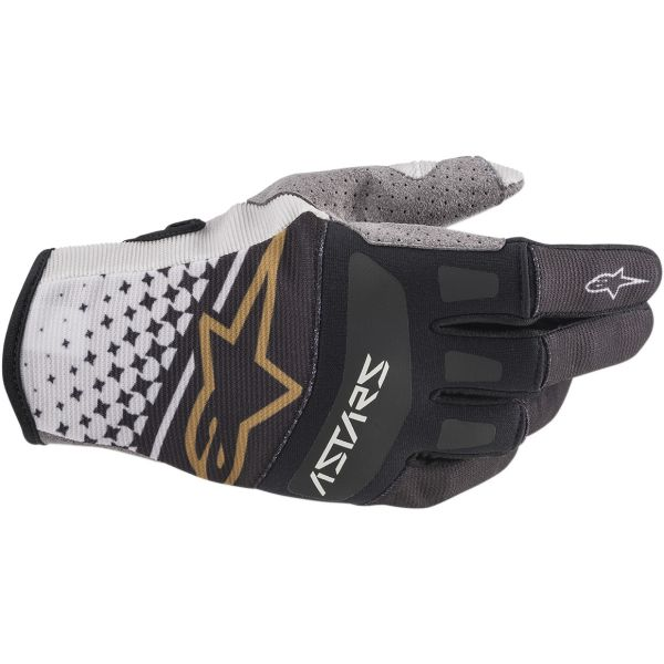 Manusi MX-Enduro Alpinestars Manusi Techstar S20 Gray/Copper