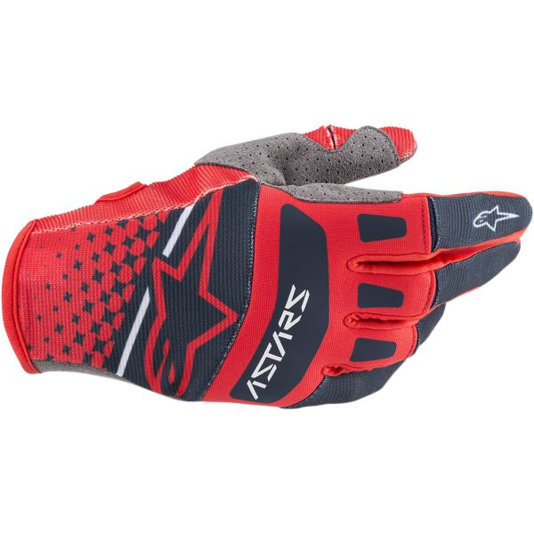 Manusi MX-Enduro Alpinestars Manusi Techstar S20 Red/Navy