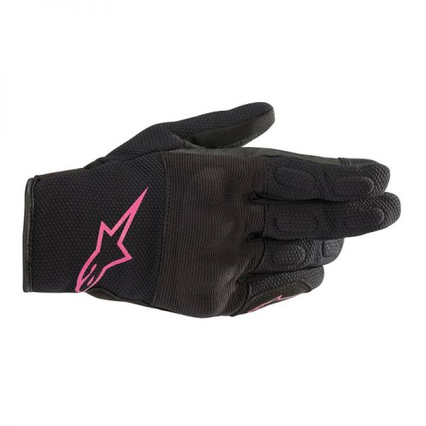 Manusi Moto Dama Alpinestars Manusi Textile Dama Stella S Max Drystar Black/Fuchsia 2020