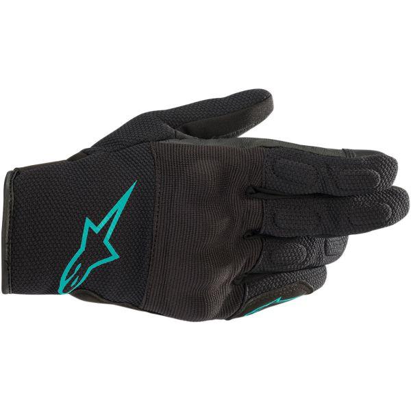 Manusi Moto Dama Alpinestars Manusi Textile Dama Stella S Max Drystar Black/Teal 2020